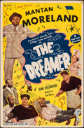 "Movie Posters:Black Films, The Dreamer (Astor, 1948). Very Good/Fine on Foam-Core. One Sheet (27"" X 41""). Black Films.. ..."