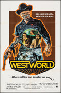 "Movie Posters:Science Fiction, Westworld (MGM, 1973). Folded, Fine+. One Sheet (27"" X 41"") Style A, Neal Adams Artwork. Science Fiction.. ..."