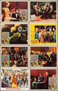 "Movie Posters:Musical, The Band Wagon & Other Lot (MGM, 1953). Very Fine-. Autographed Lobby Card & Lobby Cards (7) (11"" X 14""). Musical.. ... (Total: 8 Items)"