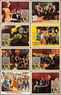 "The Band Wagon & Other Lot (MGM, 1953). Very Fine-. Autographed Lobby Card & Lobby Cards (7) (11"" X 14""..."