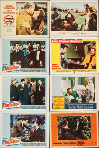 Compulsion & Other Lot (20th Century Fox, 1959). Overall: Very Fine-. Lobby Cards (10) & Title Lobby Card (11&qu...
