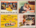 "Movie Posters:Comedy, We're Not Married & Other Lot (20th Century Fox, 1952). Fine. Title Lobby Cards (2) & Lobby Cards (2) (11"" X 14""). Comedy.. ... (Total: 12 Items)"