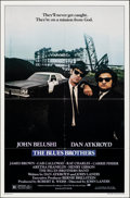 "Movie Posters:Comedy, The Blues Brothers (Universal, 1980). Folded, Very Fine+. One Sheet (27"" X 41""). Comedy.. ..."