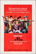 """Movie Posters:Western, The Cheyenne Social Club (National General, 1970). Folded, Very Fine. One Sheet (27"""" X 41""""). & Autographed Lobby Card (11"""" X... (Total: 2 Items)"""