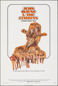 "Movie Posters:Western, The Cowboys (Warner Bros., 1972). Folded, Very Fine. One Sheet (27"" X 41""). Style B, Craig Nelson Artwork. Western.. ..."
