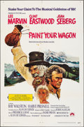 """Movie Posters:Musical, Paint Your Wagon (Paramount, 1969). Folded, Very Fine. One Sheet (27"""" X 41""""). Musical.. ..."""