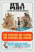 """Movie Posters:Comedy, The Russians Are Coming, the Russians Are Coming (United Artists, 1966). Folded, Very Fine-. One Sheet (27"""" X 41""""). Jack Dav..."""