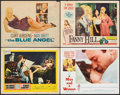 """Movie Posters:Drama, Elmer Gantry & Other Lot (United Artists, 1960). Fine/Very Fine. Lobby Cards (3) & Title Lobby Card (11"""" X 14""""). Drama.. ... (Total: 4 Items)"""