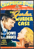 """Movie Posters:Mystery, The Garden Murder Case (MGM, 1936). Folded, Very Fine-. Uncut Pressbook (15 Pages, 14"""" X 20""""). Mystery.. ..."""