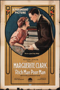 "Movie Posters:Drama, Rich Man, Poor Man (Paramount, 1918). Fine-. One Sheet (27.5"" X 41""). Drama.. ..."