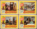 "Movie Posters:Black Films, Big Timers (All-American, 1945). Fine+. Lobby Cards (4) (11"" X 14""). Black Films.. ... (Total: 4 Items)"