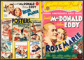 """Movie Posters:Musical, Rose Marie (MGM, 1936). Folded, Fine+. Uncut Pressbook (24 Pages, 14"""" X 20"""") with Herald (Folded: 6"""" X 9"""", Unfolded: 12"""" X 9... (Total: 3 Items)"""