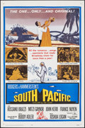 "Movie Posters:Musical, South Pacific (20th Century Fox, R-1964). Folded, Very Fine/Near Mint. One Sheet (27"" X 41""). Musical.. ..."