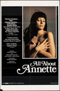 """Movie Posters:Adult, All About Annette & Other Lot (Essex, 1982). Folded, Very Fine-. One Sheets (2) (25"""" X 38"""" & 27"""" X 41"""") & Video Poster (18"""" ... (Total: 3 Items)"""