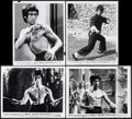 "Movie Posters:Action, Enter the Dragon (Warner Bros., 1973). Fine/Very Fine. Photos (4) (8"" X 10""). Action.. ... (Total: 4 Items)"