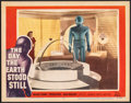 "Movie Posters:Science Fiction, The Day the Earth Stood Still (20th Century Fox, 1951). Very Fine. Lobby Card (11"" X 14""). Science Fiction.. ..."