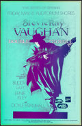 "Movie Posters:Rock and Roll, Stevie Ray Vaughan and Double Trouble (1990). Fine+ on Board. Signed Concert Poster (11"" X 17"") Nels Jacobson Artwork. Rock ..."