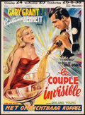 """Movie Posters:Comedy, Topper (Cine Vog, R-1940s). Folded, Fine+. Trimmed Belgian (14"""" X 22""""). Comedy.. ..."""
