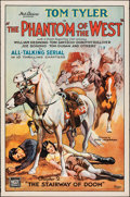"""Movie Posters:Serial, The Phantom of the West (Mascot, 1931). Rolled, Very Fine-. One Sheet (27"""" X 41"""") Chapter 2 -- """"Stairway of Doom."""" Serial.. ..."""