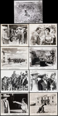 """Movie Posters:Western, The Alamo (United Artists, 1960/1967). Very Fine-. Photos (11) & Behind-the-Scenes Photo (8"""" X 10""""). Western.. ... (Total: 14 Items)"""
