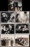 """Movie Posters:Drama, The Best Years of Our Lives (RKO, 1946). Fine/Very Fine. Photos (6) & Linen Backed Keybook Photos (6) (8"""" X 10""""). Drama.. ... (Total: 12 Items)"""