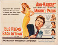 """Movie Posters:Drama, Bus Riley's Back in Town (Universal, 1965). Folded, Very Fine-. Half Sheet (22"""" X 28""""). Drama.. ..."""