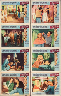 "The Art of Love & Other Lot (Universal, 1965). Overall: Very Fine-. Lobby Card Sets of 8 (2 Sets) (11"" X 14&quo..."