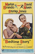 """Movie Posters:Comedy, Bedtime Story & Other Lot (Universal, 1964). Folded, Very Fine-. One Sheets (2) (27"""" X 41""""). Comedy.. ... (Total: 2 Items)"""