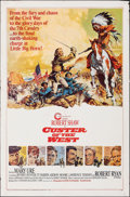 """Movie Posters:Western, Custer of the West & Other Lot (Cinerama Releasing, 1968). Folded, Overall: Fine/Very Fine. One Sheet (27"""" X 41"""") Style A. F... (Total: 2 Items)"""