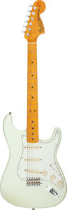 Musical Instruments:Electric Guitars, 2013 Fender Stratocaster Olympic White Solid Body Electric Guitar, Serial #R69857.. ...