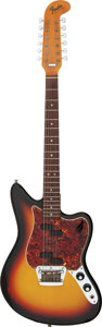 Musical Instruments:Electric Guitars, 1966 Fender Electric XII Sunburst Solid Body Electric Guitar, Serial #172650.. ...