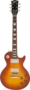 Musical Instruments:Electric Guitars, 2012 Gibson Les Paul R-9 Sunburst Solid Body Electric Guitar, Serial #9 21664.. ...