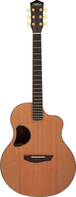2017 McPherson MG 5.0 XP Natural Acoustic Guitar, Serial #0186