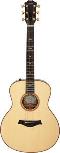 Musical Instruments:Acoustic Guitars, 2011 Taylor 516e-FLTD Natural Acoustic Electric Guitar, Serial #1108283006.. ...