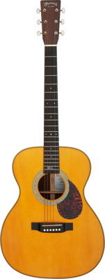 2006 Martin OMJM John Mayer Natural Acoustic Guitar, Serial #1139706