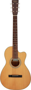 Musical Instruments:Acoustic Guitars, Recording King RP1-16C Natural Acoustic Guitar, Serial #A1...