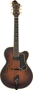 Musical Instruments:Electric Guitars, Circa 1982 Benedetto Custom 7-String Sunburst Archtop Electric Guitar, Serial #7682.. ...