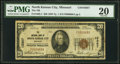 National Bank Notes:Missouri, North Kansas City, MO - $20 1929 Ty. 1 The National Bank of North Kansas City Ch. # 10367 PMG Very Fine 20.. ...
