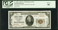 National Bank Notes:Missouri, Saint Louis, MO - $20 1929 Ty. 2 Mercantile Commerce National Bank Ch. # 4178 PCGS Gem New 66.. ...