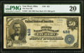 Van Wert, OH - $50 1902 Date Back Fr. 667 The First National Bank Ch. # 422 PMG Very Fine 20