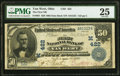 Van Wert, OH - $50 1902 Date Back Fr. 667 The First National Bank Ch. # (M)422 PMG Very Fine 25