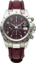Timepieces:Wristwatch, Tudor Ref. 79280 Prince Date Steel Automatic Chronograph. ...