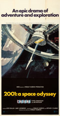 Movie Posters:Science Fiction, 2001: A Space Odyssey (MGM, 1968). Folded, Very Fine-....