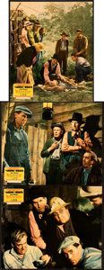 """Movie Posters:Drama, The Grapes of Wrath (20th Century Fox, 1940). Very Fine. Jumbo Lobby Cards (3) (14"""" X 17"""").. ... (Total: 3 Items)"""