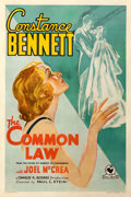 Movie Posters:Drama, The Common Law (RKO-Pathé Distributing, 1931). Very Good-...