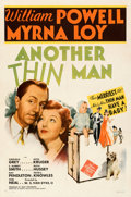 "Movie Posters:Mystery, Another Thin Man (MGM, 1939). Fine+ on Linen. One Sheet (27"" X 41"") Style C.. ..."