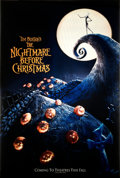 """Movie Posters:Animation, The Nightmare Before Christmas (Touchstone, 1993). Very Fine. Barrier Strip (Lenticular Type 3-D) One Sheet (27"""" X 40"""") Adva..."""