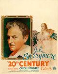 """Movie Posters:Comedy, 20th Century (Columbia, 1934). Fine- on Cardstock. Jumbo Window Card (22"""" X 28""""). From the Mike Kaplan Collection.. ..."""