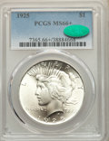 1925 $1 MS66+ PCGS. CAC. PCGS Population: (2054/130). NGC Census: (1840/100). CDN: $265 Whsle. Bid for NGC/PCGS MS66. Mi...