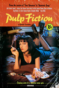 "Movie Posters:Crime, Pulp Fiction (Miramax, 1994). Rolled, Very Fine+. One Sheet (27"" X 40"") SS Withdrawn Advance, Lucky Strike Style.. ..."